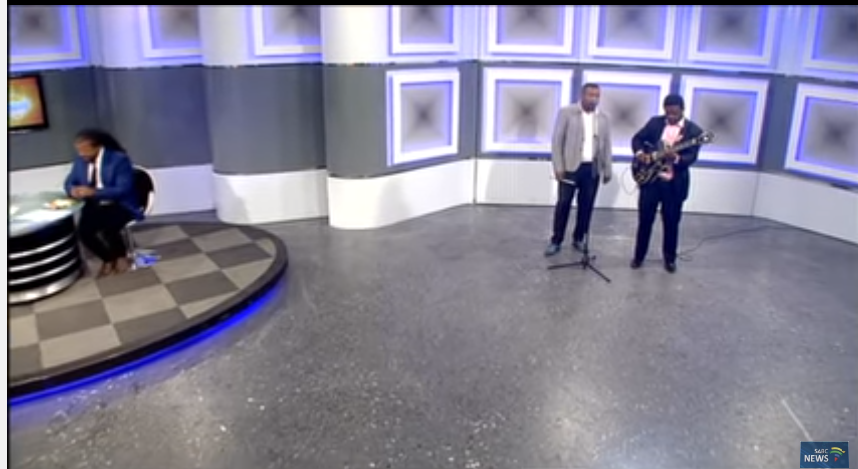 Billy Monama & Grazroots Project gracing Performance on Morning live