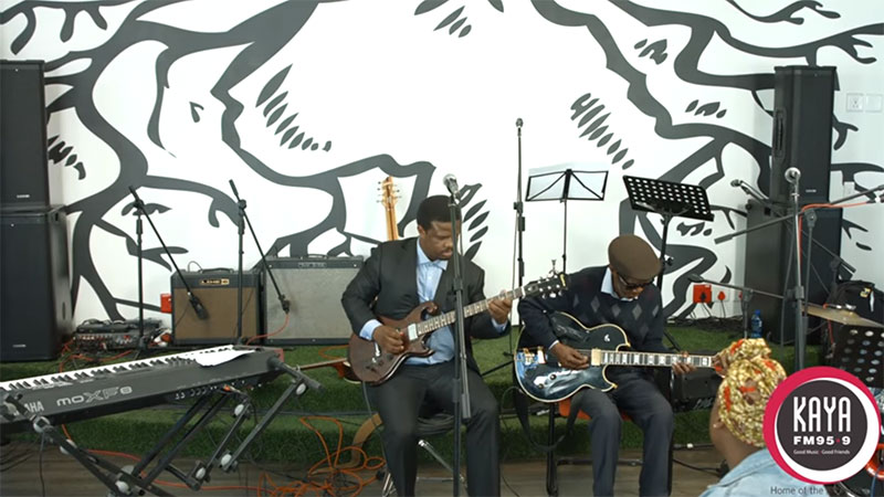 Billy Monama & The Grazroots Project Performs Themba Special & Tom Hawk Live and Unplugged On Kaya